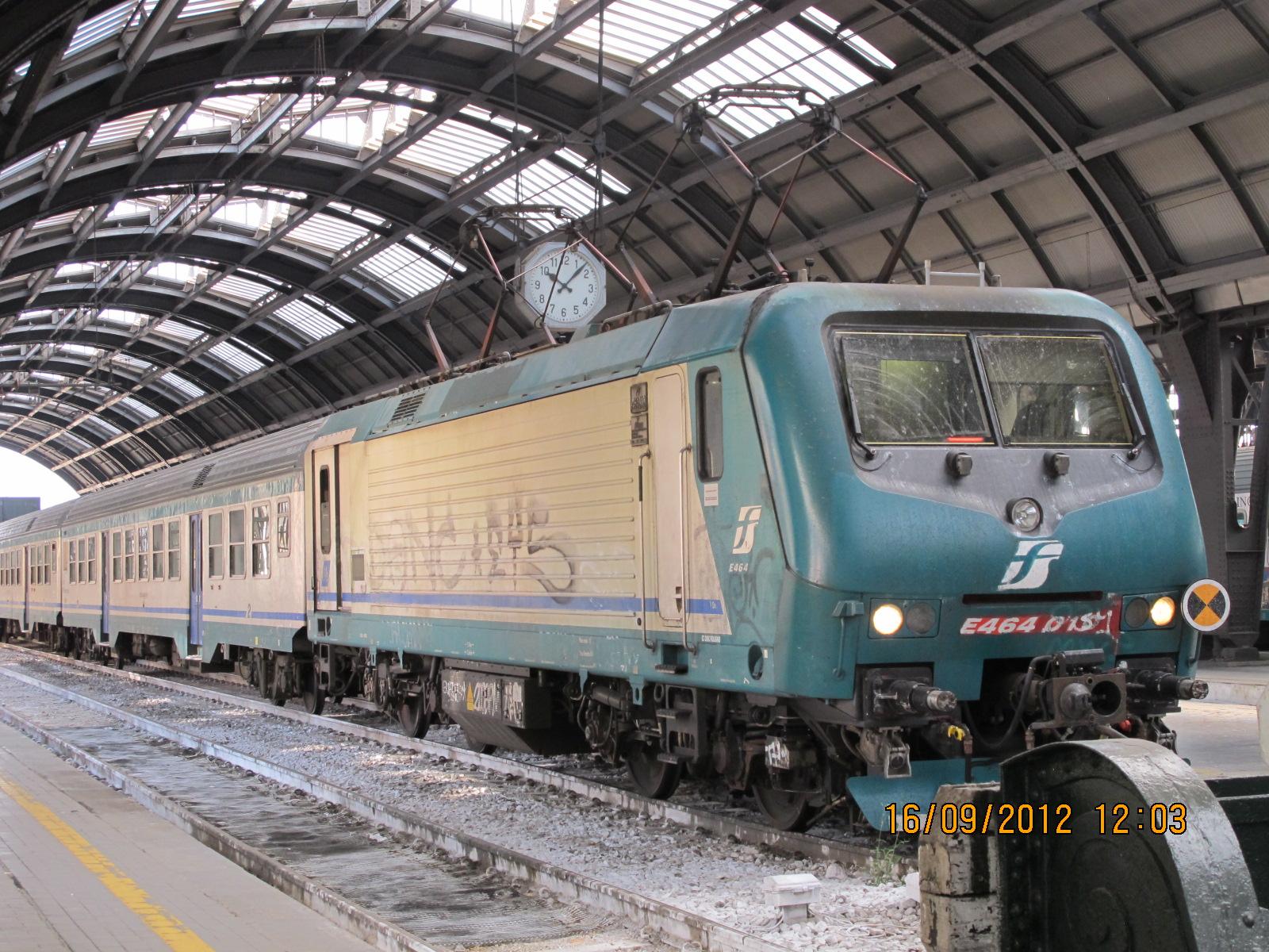 Цена билета поезд милан-стреза